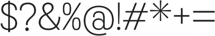 Grota Sans Alt Light otf (300) Font OTHER CHARS