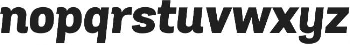 Grota Sans ExtraBold Italic otf (700) Font LOWERCASE