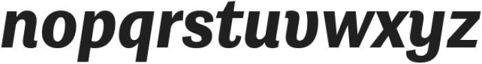 Grotesco ExtraBold It otf (700) Font LOWERCASE