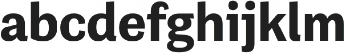 Grotesco ExtraBold otf (700) Font LOWERCASE