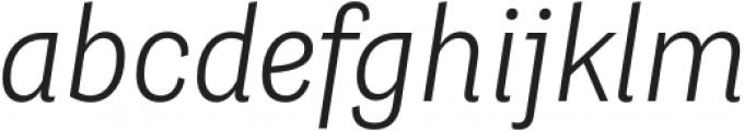 Grotesco Light It otf (300) Font LOWERCASE