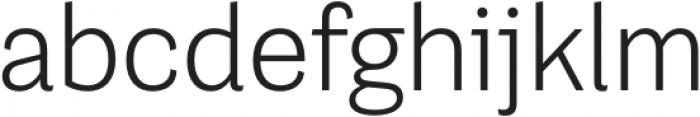 Grotesco Light otf (300) Font LOWERCASE