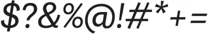 Grotesco Medium It otf (500) Font OTHER CHARS