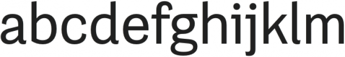 Grotesco Medium otf (500) Font LOWERCASE