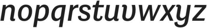 Grotesco SemiBold It otf (600) Font LOWERCASE