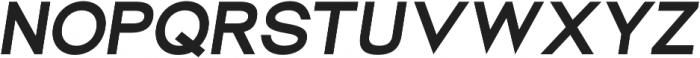 Groteska Bold Italic otf (700) Font UPPERCASE