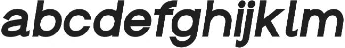 Groteska Bold Italic otf (700) Font LOWERCASE