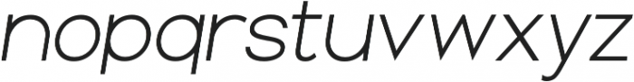 Groteska Book Italic otf (400) Font LOWERCASE
