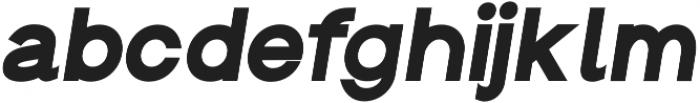 Groteska Heavy Italic otf (800) Font LOWERCASE