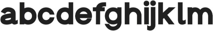 Groteska Heavy otf (800) Font LOWERCASE