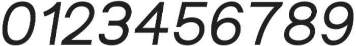 Groteska Italic otf (400) Font OTHER CHARS