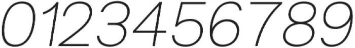 Groteska Light Italic otf (300) Font OTHER CHARS