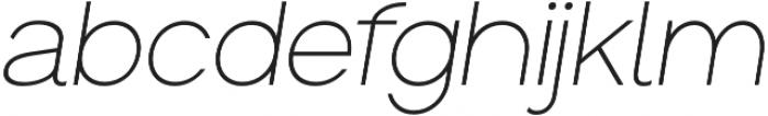 Groteska Light Italic otf (300) Font LOWERCASE