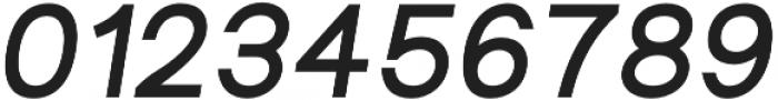 Groteska Medium Italic otf (500) Font OTHER CHARS