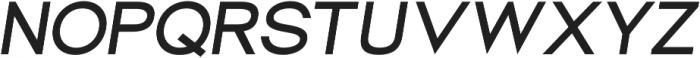 Groteska Medium Italic otf (500) Font UPPERCASE