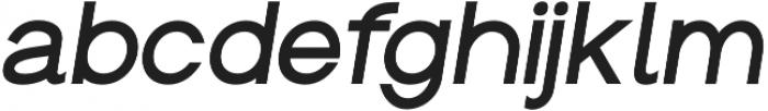Groteska Medium Italic otf (500) Font LOWERCASE