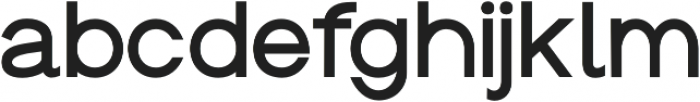 Groteska Medium otf (500) Font LOWERCASE