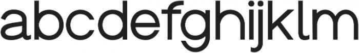 Groteska Regular otf (400) Font LOWERCASE