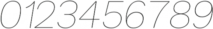 Groteska Thin Italic otf (100) Font OTHER CHARS