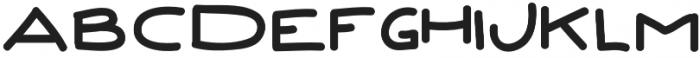 Grow Up Regular otf (400) Font UPPERCASE