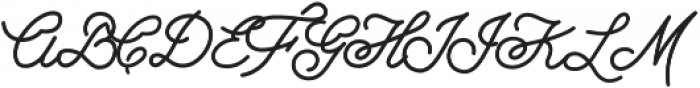 Growler Script otf (400) Font UPPERCASE