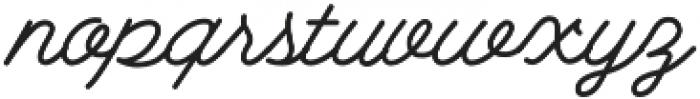 Growler Script otf (400) Font LOWERCASE