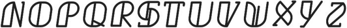 Grumboll Italic ttf (400) Font UPPERCASE