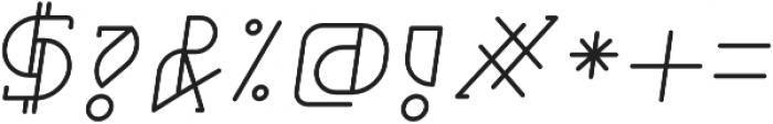 Grumboll Semibold Italic otf (600) Font OTHER CHARS