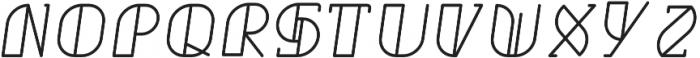 Grumboll Semibold Italic otf (600) Font UPPERCASE