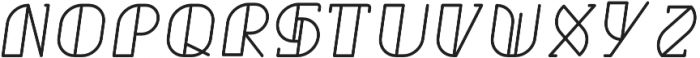 Grumboll Semibold Italic otf (600) Font LOWERCASE
