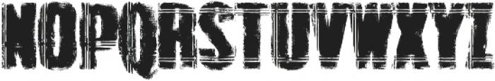 Grunge Overlords  Regular ttf (400) Font UPPERCASE