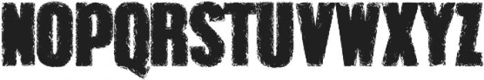 Grunge Overlords  Regular ttf (400) Font LOWERCASE
