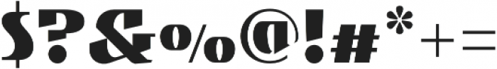 Gryffith CF Black otf (900) Font OTHER CHARS