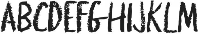 griffonage ttf (400) Font UPPERCASE