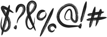 grooz zomera otf (400) Font OTHER CHARS