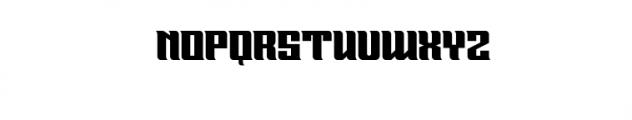 GRANGERS.ttf Font UPPERCASE