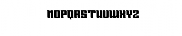 GRANGERS.ttf Font LOWERCASE