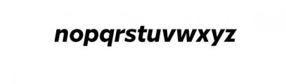 Graible Nova-BoldItalic.otf Font LOWERCASE