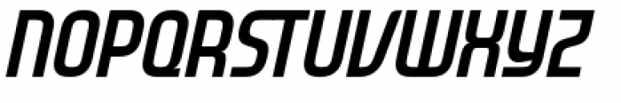 Gravel Bold Italic Font UPPERCASE