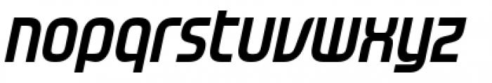 Gravel Bold Italic Font LOWERCASE