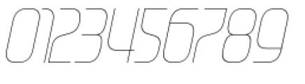 Gravel Light Italic Font OTHER CHARS