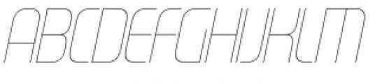Gravel Light Italic Font UPPERCASE