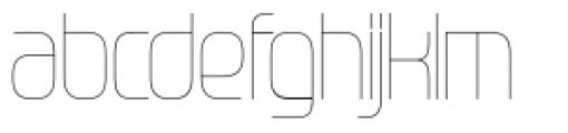 Gravel Light Font LOWERCASE