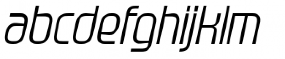 Gravel Medium Italic Font LOWERCASE