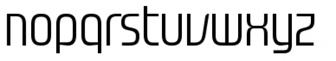 Gravel Medium Font LOWERCASE