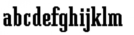 Grecian Font LOWERCASE