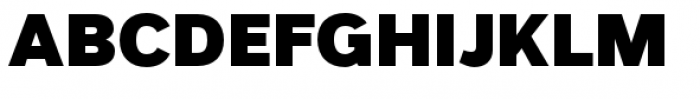 Grey Sans Black Font UPPERCASE