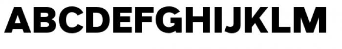 Grey Sans Extra Bold Font UPPERCASE