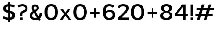 Grey Sans Semi Bold Font OTHER CHARS