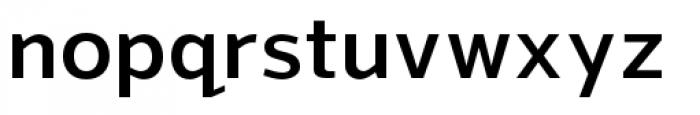 Grey Sans Semi Bold Font LOWERCASE